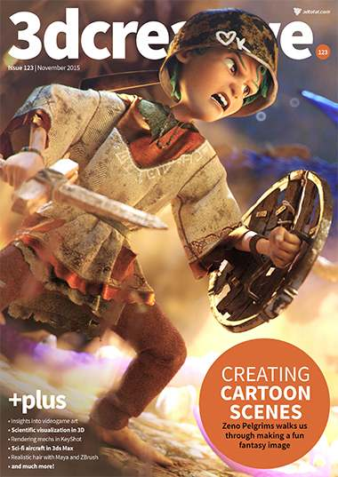 3D Creative Magazine Issue 123 November 2015