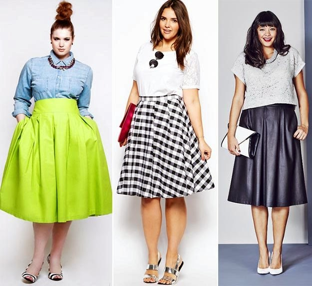 Stylish Plus Size Outfit Ideas for Summer 2014-2015 | Fashion Full Collection