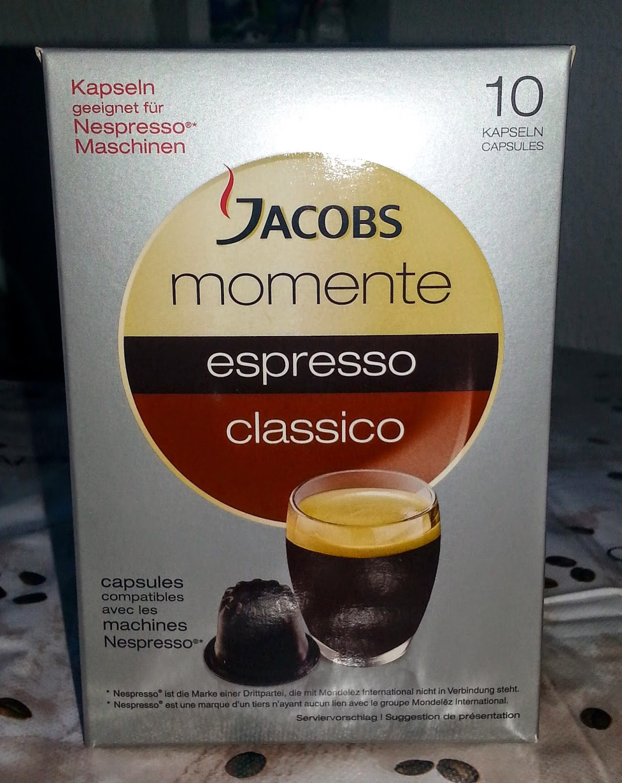 muttis produkttest blog jacobs momente espresso lungo kapseln. Black Bedroom Furniture Sets. Home Design Ideas