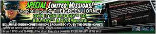 Green Hornet Special Missions at Superhero City