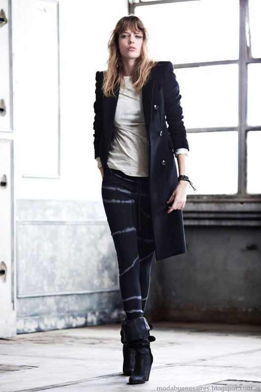 Abrigos 2014. Paula Cahen D'Anvers tapados otoño invierno 2014. Moda otoño invierno 2014.