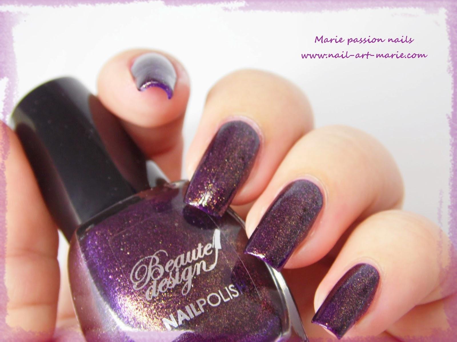 Beautedesign Violet Métallisé7
