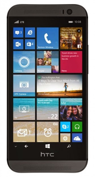 HTC One Vendra SO Windows Phone