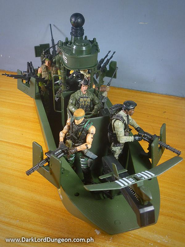 Presenting the elite force naval special warfare gunboat re purposed