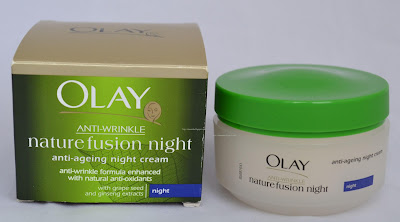 Olay Anti-Wrinkle Nature Fusion Anti-Ageing Night Cream review