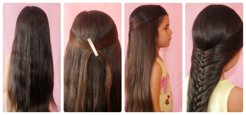 Прически в школу за 5 минут на длинные волосы