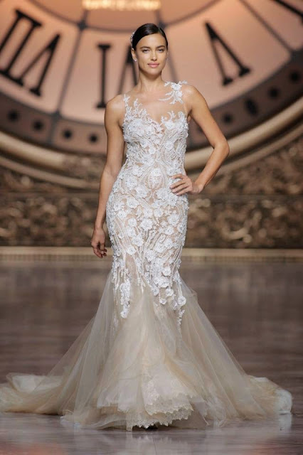 Atelier Pronovias 2016  bridal collection fashion presentation for Barcelona Bridal Week 2015