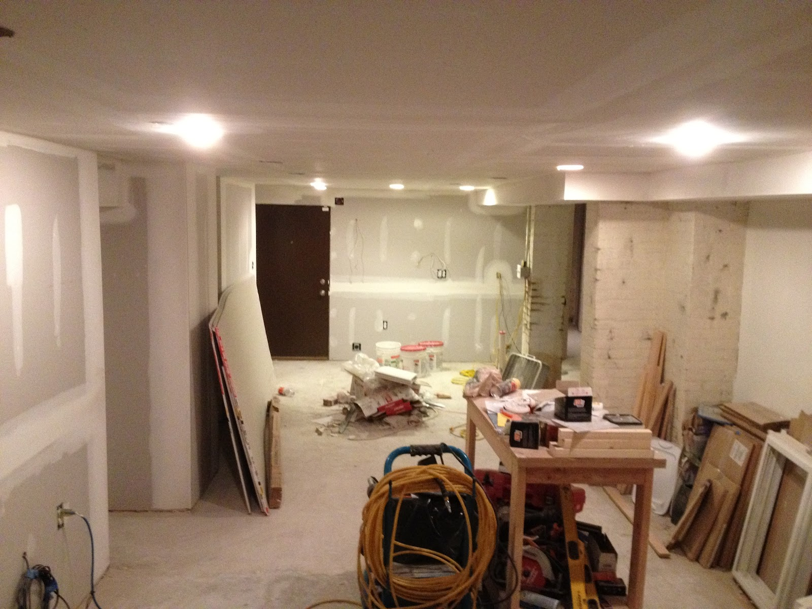 before after english basement renovation redovercoat com