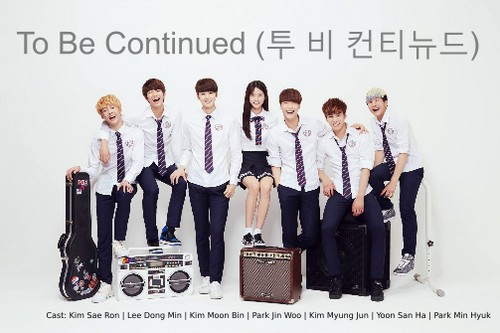 "Poster drama Korea ""To Be Continued"" / ""Become Our Stars"""