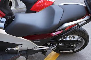 Asiento trasero de Honda Integra tapizado con antideslizante