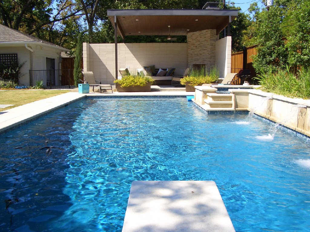 Swimming pool designs ideas wallpapers pictures for House plan with swimming pool