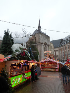 Lille Christmas market, one of the largest in Europe