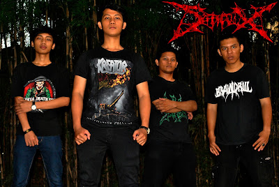 STAX Band Death Metal Jakarta - Indonesia Foto Personil logo wallpaper facebook reverbnation purevolume