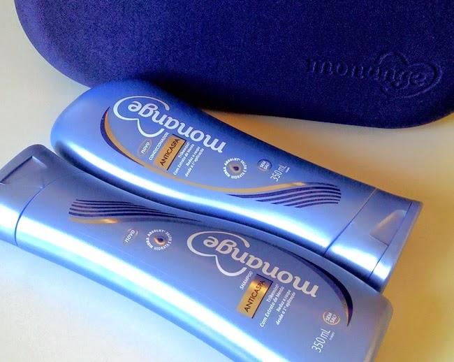 Monange, Cabelo, Anticaspa, Recebido, Resenha, PressKit, Hypermarcas, Shampoo, Condicionador,