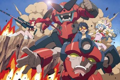 anime manga accion humor robots