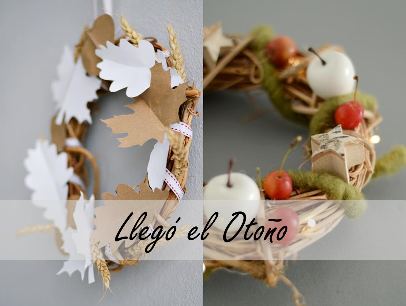 DIY: CORONAS PARA EL OTOÑO