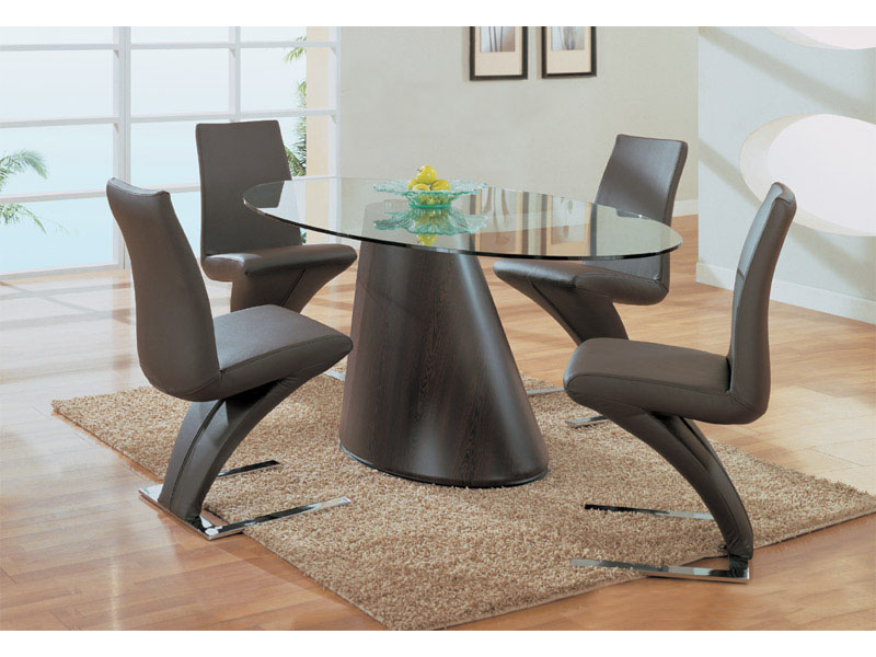 Inspirational of home interiors and garden modern dining for Modern dining table and chairs