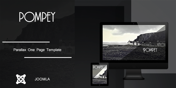 Parallax One Page Joomla Template