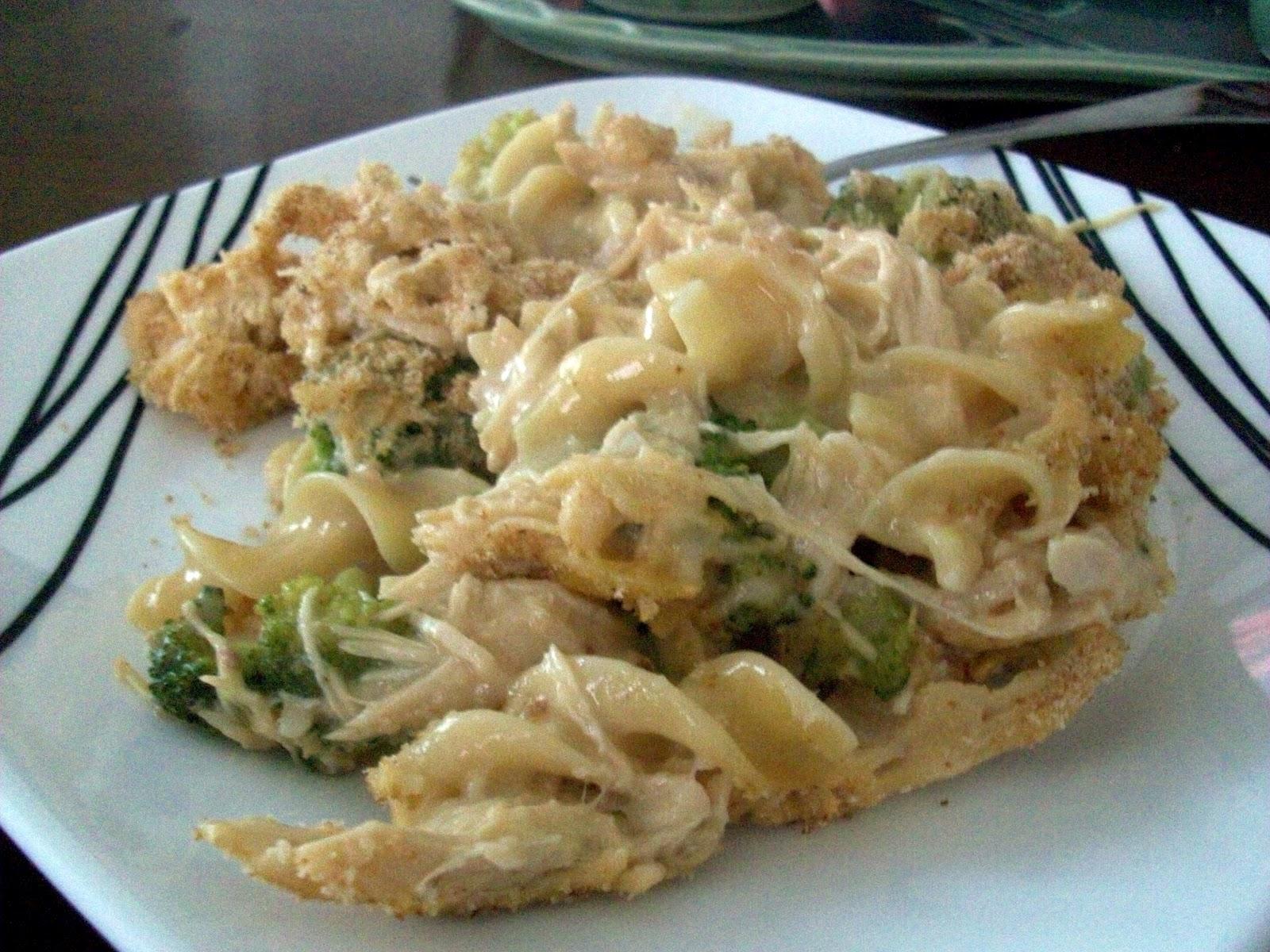 Chicken And Broccoli Noodle Casserole Recipe — Dishmaps