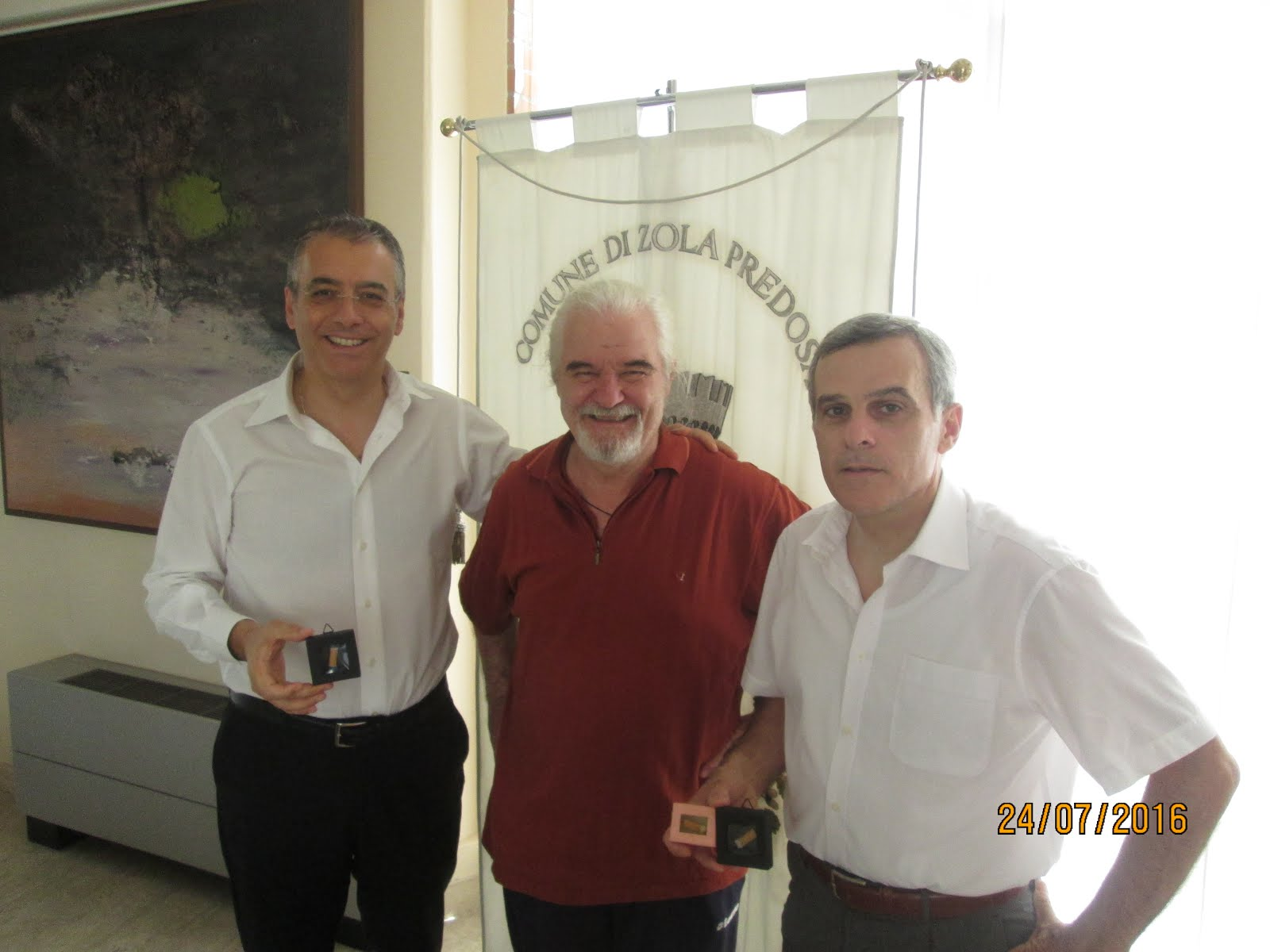 I sindaci di Casalecchio e Zola Predosa
