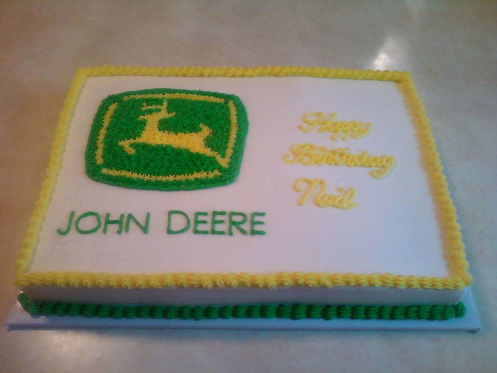 Cakes by the Sugar Cains John Deere Cake