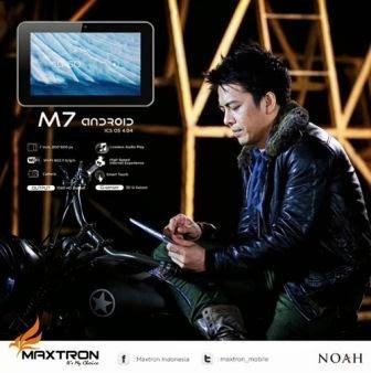 Review, Spesifikasi dan Update Harga Terbaru Maxtron M7 Smartphone Android