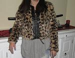 Vendo Novo Casaco Leopardo