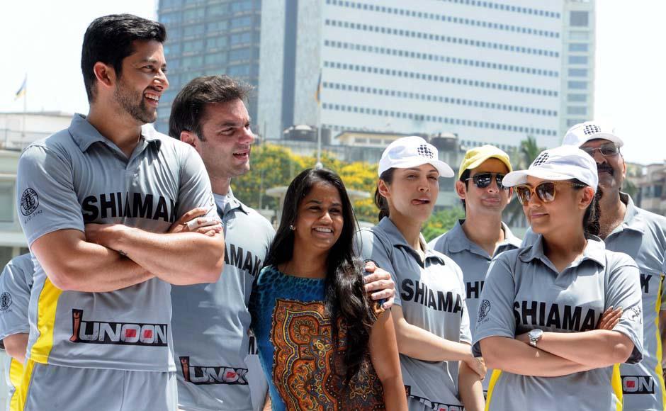 Salman Khan at junoon celebrity Cricket Match