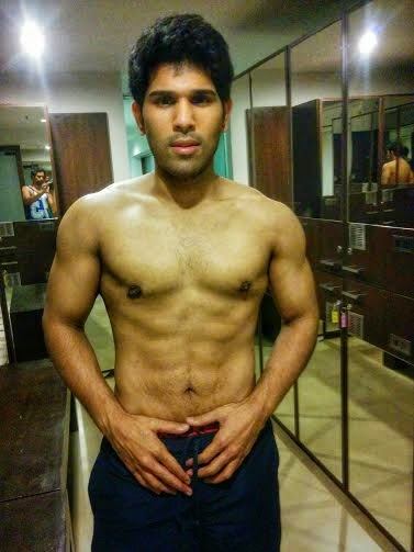 Allu Sirish 6 Pack Photos