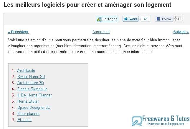 Juillet 2011 freewares tutos for Logiciel gratuit pour creer son jardin