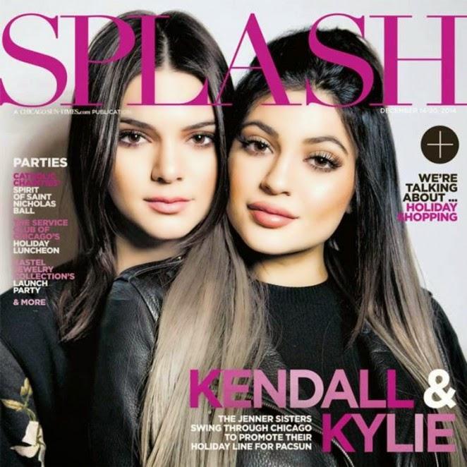 Kendall and Kylie Jenner cover Splash Magazine December 2014