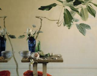 Bodegones en Interiores con Flores