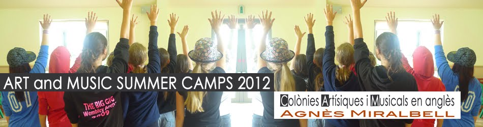 ART and MUSIC SUMMER CAMPS 2012