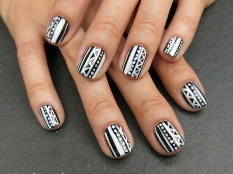 Lindos diseños de uñas. uñas decoradas modernas con acrilico ...