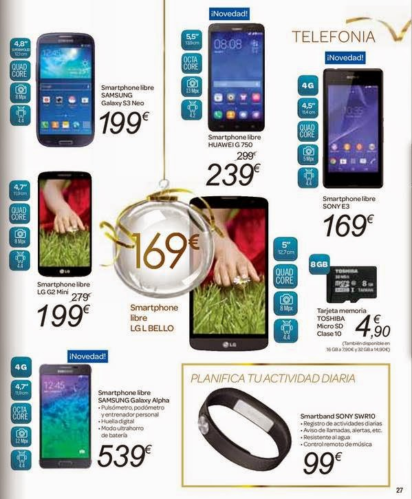 smartphone para regalar carrefour 14-15