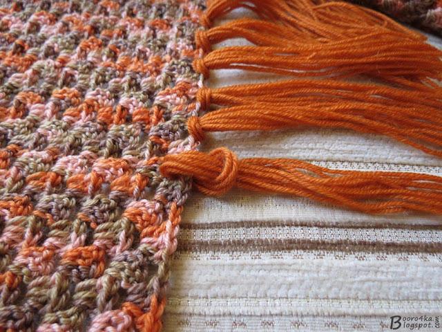 Кисти на шарф своими руками 87