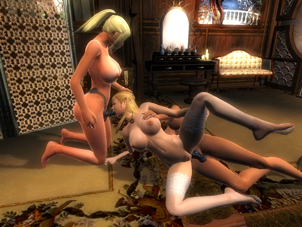 Adult only mods for oblivion fucking scene