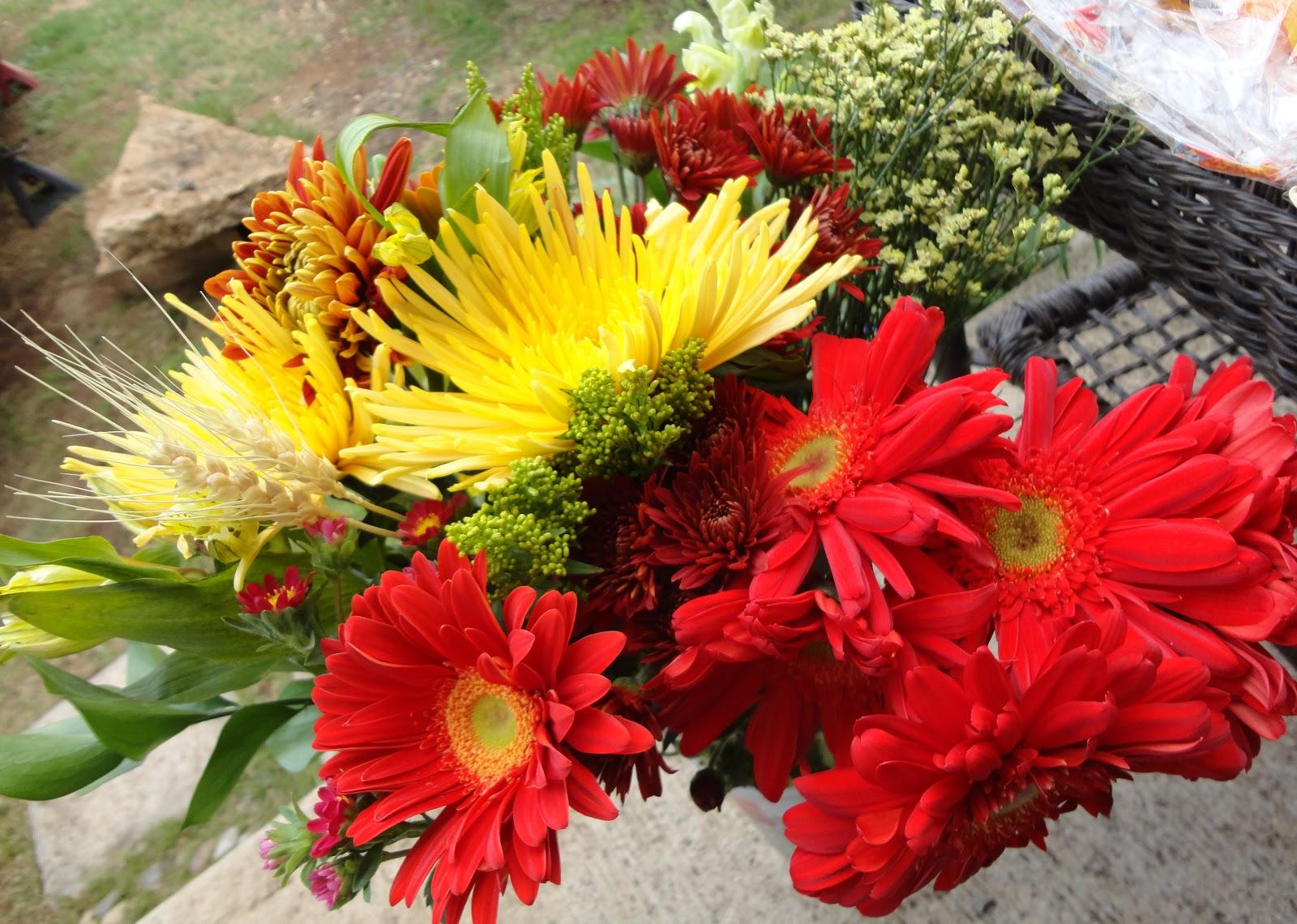 isshou no yakusoku Floral Arranging III Thanksgiving DIY Centerpiece