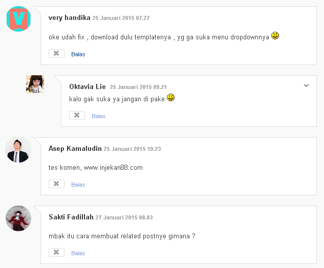 Cara Membuat Threaded Comment Hack Blogger Style 1
