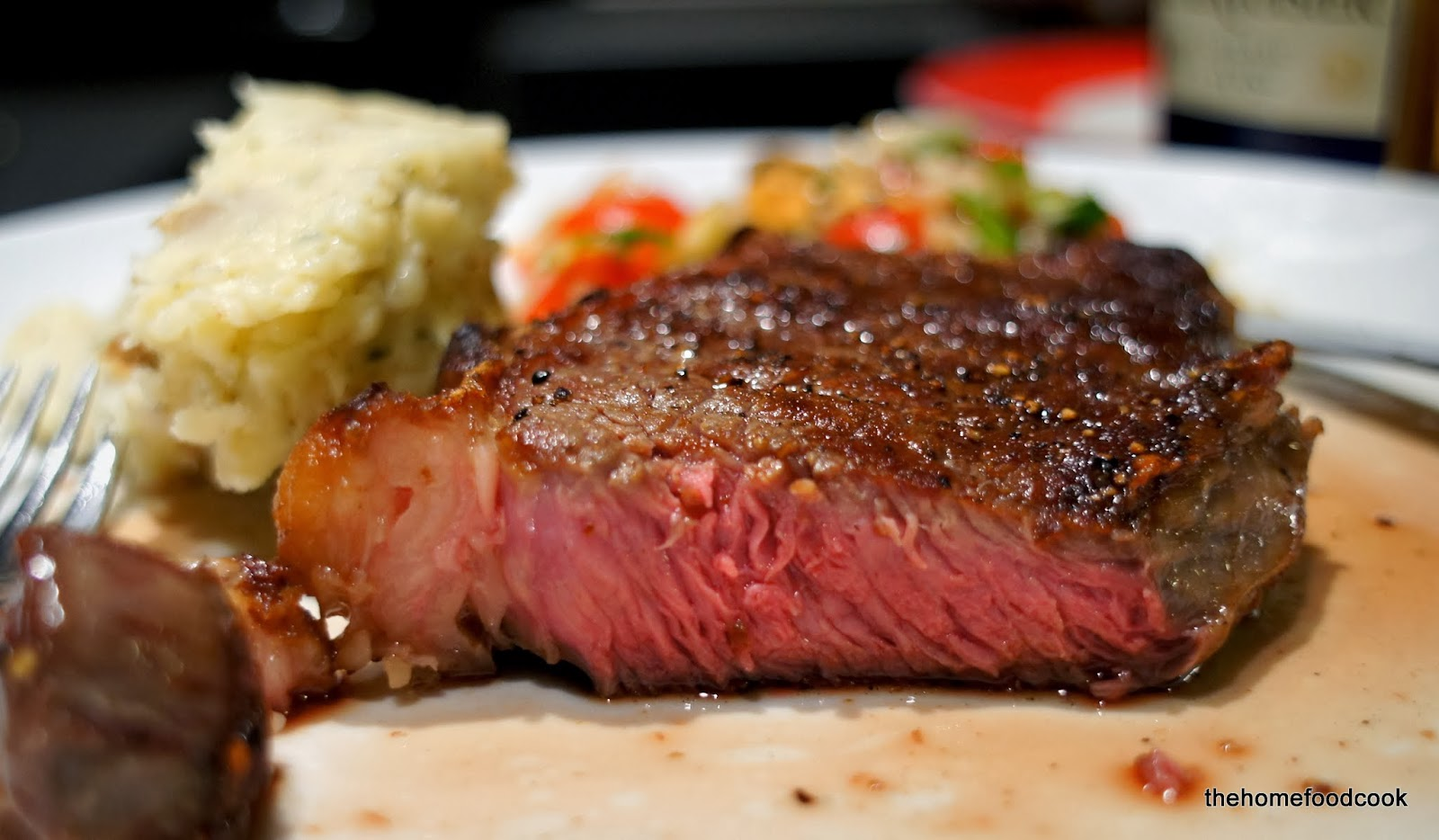 Layer and serve then stuff your face and crawl to the for Porterhouse steak