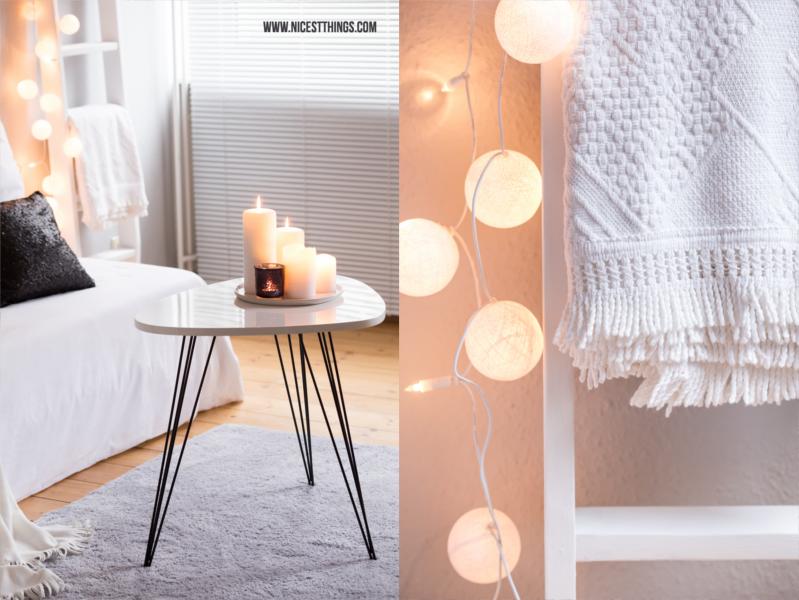 Winterdeko Ideen für\'s Wohnzimmer, Herbstblätter im ...