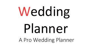 Tổ chức tiệc cưới - Sinh nhật | Marketing 4U: Wedding - Birthday Planner