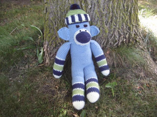 Crochet Sock Monkey Meganyouhappycrochet