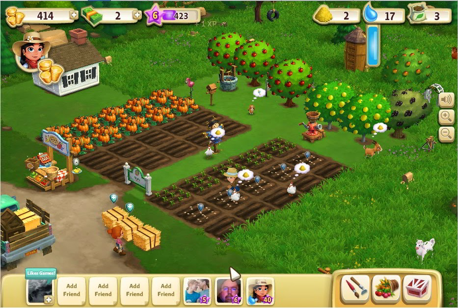 Game NEW Farm Ville 2