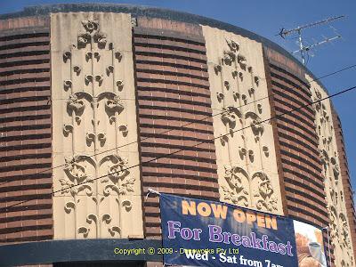 Kauri facade detail