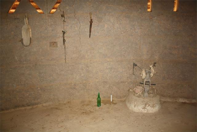 Fetiches animistas - Museo de la Tradición Diola - Mlomp