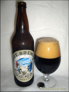 Port Brewing Board Meeting Brown Ale