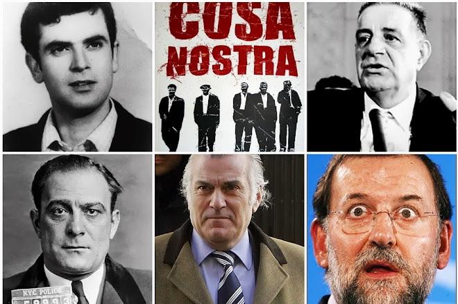 "Luis Bárcenas ""El Degüello"". Leonardo Vitale ""El Confeso"". Joseph Valachi ""El Soplón"". Perfiles"