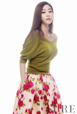 Kim Hyo Jin - Sure Magazine September Issue 2013