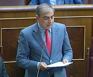 El portavoz del PSOE en materia sanitaria, José Martínez Olmos